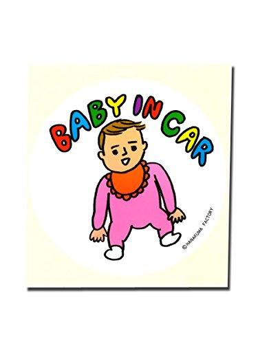 dune 花くまゆうさく BABY IN CAR 赤ちゃん ステッカー