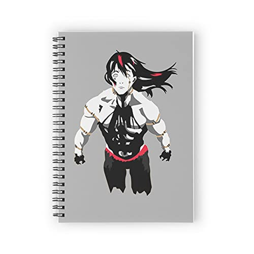 jujutsu kaisen Spiral Notebooks 160 Pages, Pages with Premium Thick Paper, Strong Twin-Wire Binding for College Students and Office