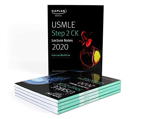 USMLE Step 2 CK Lecture Notes 2020, 5-Book Set (Kaplan Test Prep)