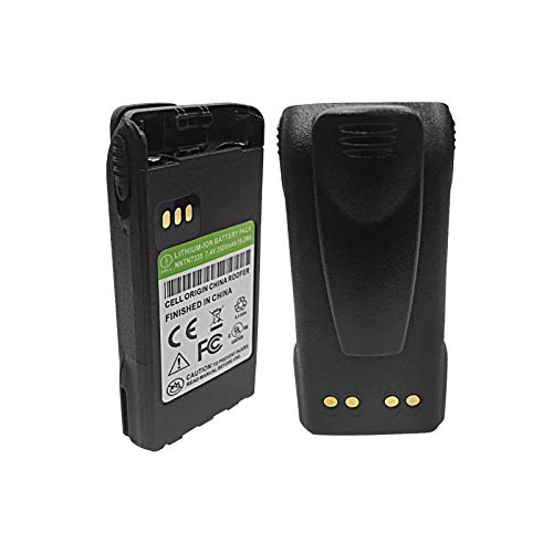 NNTN7335 Two Way Radio Battery Replacement for Motorola CP200 CP200D CP200XLS CP150 CP185 XTS1500 XTS2500 PR1500 MT1500 Portable Radio