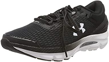 Under Armour Women's Charged Intake 3 Running Shoe, Black (003)/White, 9