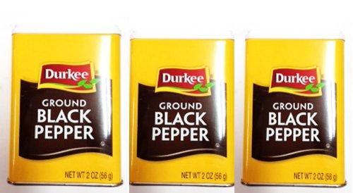 durkee Ground black pepper ブラックペッパー 胡椒 コショウ 56g×3個セット
