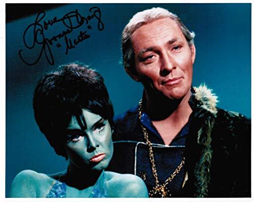 Star Trek: The Original Series Yvonne Craig as Marta Original Autograph Signed 8' x 10' Photo A