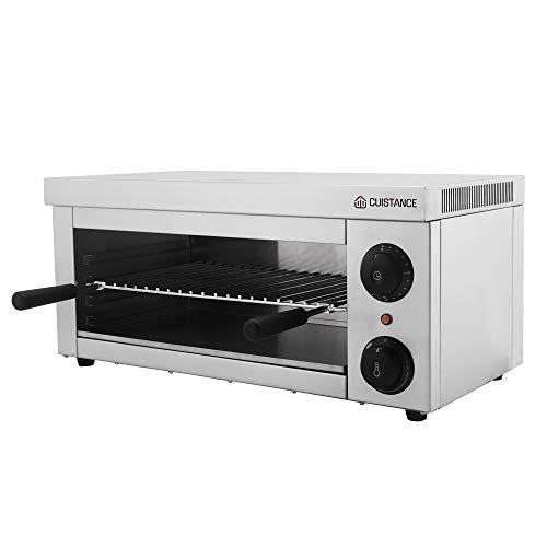 Hbmatos Salamander Elektrischer Toaster Grill Küche RCES-2000-EGO (2.000 W, 57 x 34 x 26 cm, 1 Infrarotheizkörper)