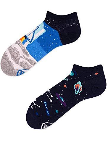 Many Mornings Socken Low unisex Sneakersocken Knöchelsocken Space Trip (43-46 RA)