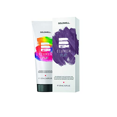 Goldwell Elumen Play Semi Permanent Farbe, Violet, 120 ml 120ml VIOLET Violett mysterious violet