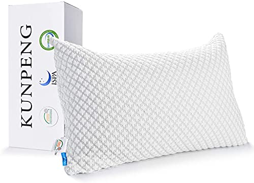 KUNPENG Bed Pillows for Sleeping: Adjustable...