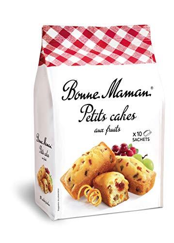 Bonne Maman Petits Cakes aux fruits pur beurre x10 en sachet individuel 300g