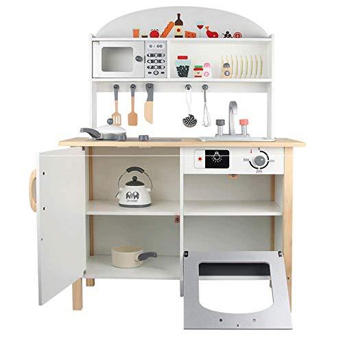 PETRLOY Juego de juguetes de accesorios de juego de simulación de cocina, juguete de cocina de casa de juegos para niños, utensilios de cocina de estufa de simulación, juguetes educativos de cocina, j