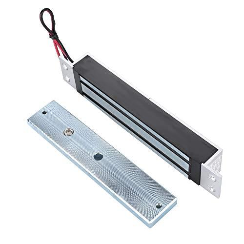 Elektromagnetische Verriegelung, DC12V 280 kg Haftkraft Elektromagnetische Verriegelung mit sicherem NC Modus für Türzugangskontrollsystem