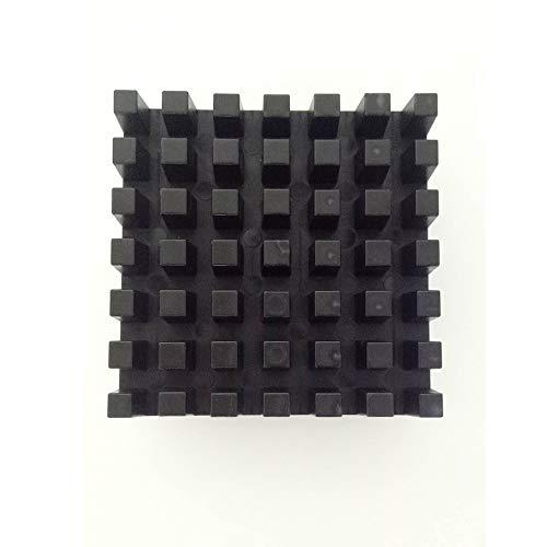 Negro El plastico Placa de empuje para Sopito Cuchillas de 1/2 pulgada