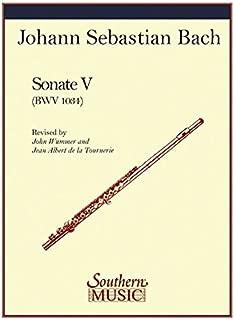 bach flute sonata e minor