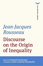 Discourse on the Origin of Inequality (The Norton Library)
