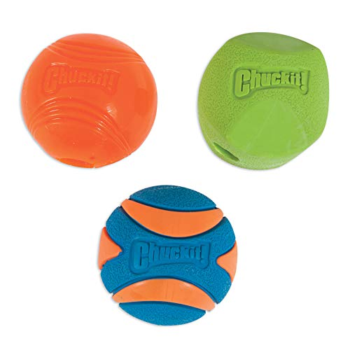 Chuckit! CH33072 Fetch Medley Bälle 2 Medium 3-er Set
