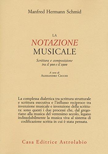 La notazione musicale. Scrittura e composizione tra il 900 e il 1900