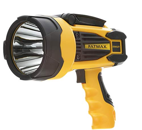 STANLEY FATMAX SL10LEDS Rechargeable 920 Lumen Lithium Ion LED Spotlight Flashlight with USB Power Charger