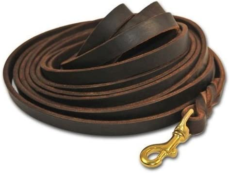 Dean and Tyler Inexpensive Braided Track Dog Brown by 1 Ranking TOP7 2-I 13.5-Feet Leash
