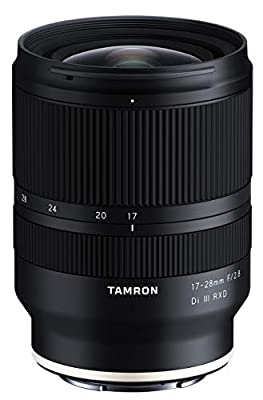 Tamron 17-28mm f/2.8 Di III RXD for Sony Mirrorless Full Frame/APS-C E Mount (Tamron 6 Year Limited USA Warranty), Black (AFA046S700) from Tamron