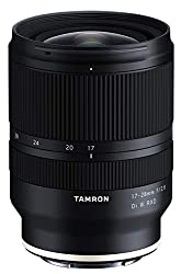 Tamron 17-28mm f/2.8 Di III RXD for Sony Mirrorless Full Frame