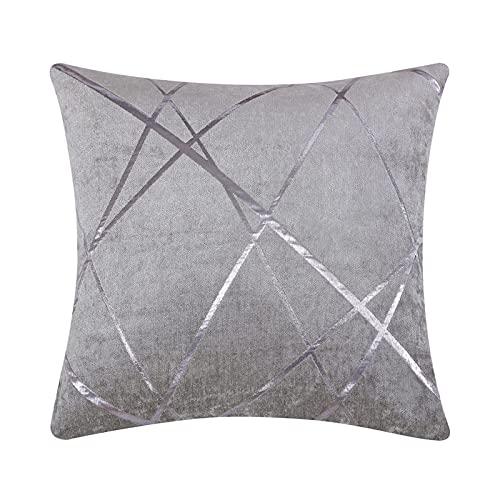 XIN NA RUI Fundas Cojines Cubierta de cojín 45x45 para sofá Cama Almohada de Estilo Cubiertas para la Oficina de la Oficina Decoración geométrica Almohadas de cojín de Rayas Sofá