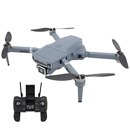 JJDSN Mini Dron Ultraligero RC, Dron Profesional sin escobillas con Control Remoto y cámara 4K HD, GPS Plegable RC Quadcopter Modelo de Juguete para entusiastas de la fotografía aérea