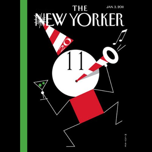 The New Yorker, January 3rd 2011 (Daniel Mendelsohn, Jeffrey Toobin, Steve Millhauser) cover art
