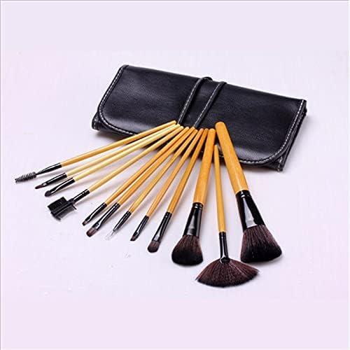 Max 68% OFF Make half Up Brushes 12Pcs Makeup Handle Cosmetic Wooden Powd
