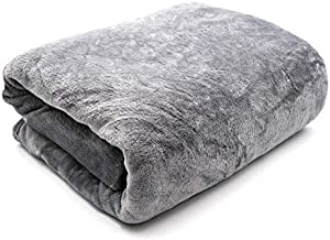 Feigu Flannel Fleece Blanket King Size 200×220cm for All Season,Soft Blankets for Bedsheet or sofa بطانية ناعمة سادة