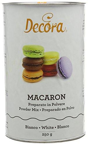 Decora 0300421 Preparato Macaron In Polvere Bianco Neutro 250 G