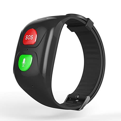NXW Cuidado Parental A Prueba De Agua Sos Grande Cuidado De Anciano Reloj GPS Pulseras GPS Brazalete Monitor De Salud De Cuidado De Ancianos Marcador Llamada De Emergencia