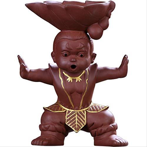 Decoratieve Ornamenten Kung Fu Theeset Gourd Thee Lek Keramische Thee Thee Residue Theefilter Thee Accessoires