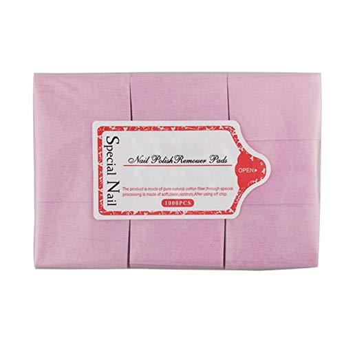 Festnight Toallitas para uñas Almohadillas de algodón Nail Art Gel Removedor de esmalte Almohadillas desechables para uñas 700 unidades/bolsa