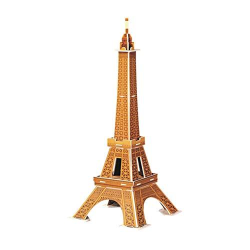 Zhou-YuXiang Mini-World Architectural Model Puzzle Papier Puzzle für Kinder Notre Dame In Paris 3D Stereo Puzzle