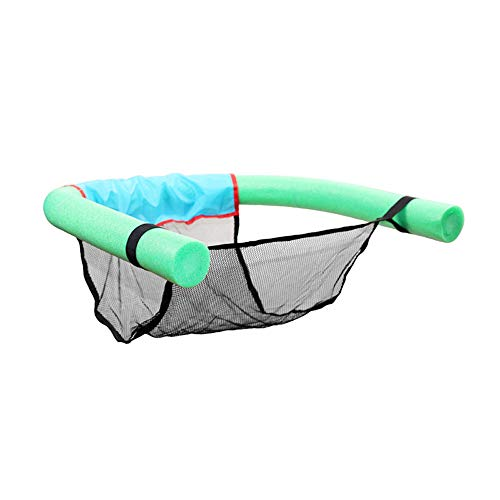 Pool Float Chair, Used for Swimming Pool or Lake,Soft Comfortable Inflatable Seats Throw Rings Portable Pool Raft Green