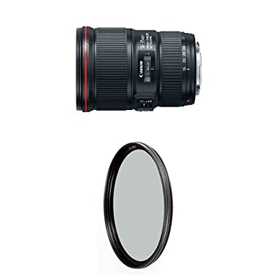 Canon EF 16-35mm f/4L IS USM Lens w/ B+W 77mm XS-Pro HTC Kaesemann Circular Polarizer from