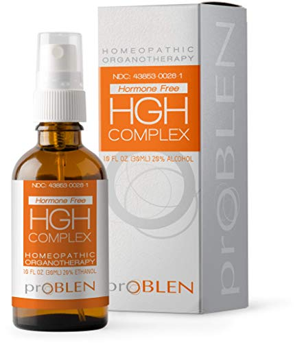 ProBLEN HGH Complex, Non Hormone Amino Acid Supplement for Increased Energy, Build Immunity and Muscle, Liquid Oral Spray, 30 Day Supply