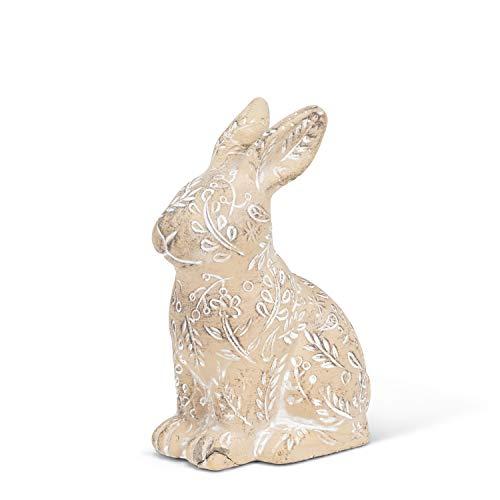 Abbott Collection 27-BUNNYKINS-550-SM Small Crouching Rabbit, Beige