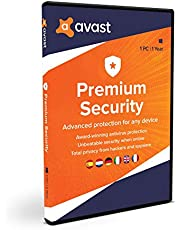 Avast Premium Security para Windows | 1 PC | 1 Año | En Caja