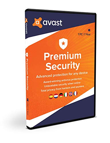 Avast Premium Security 2020 | 1 PC | 1 jaar