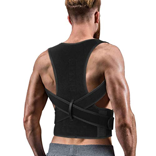 Back Brace Posture Corrector for Men and Women by TUBNVOOT