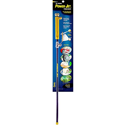 """Power Products USA 88497 The Original Jet Power Washer Spray Two Nozzles Incl, 2-1/4"""" Height x 1"""" Width x 30"""" Length"""