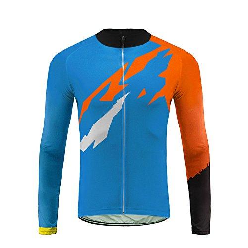 Uglyfrog Mode Sport & Freizeit Wear Spring Reflektierende Lange Ärmel Fahrrad und Atmungsaktiv Herren Fahrradfahren Sport Shirts