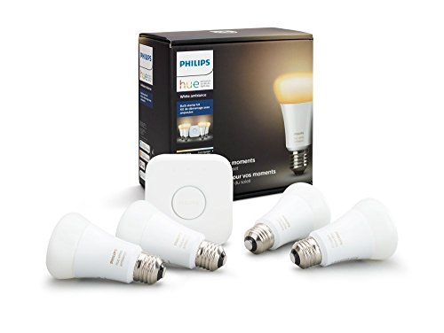 Philips Hue 4-Bulb Starter Kit White Ambiance