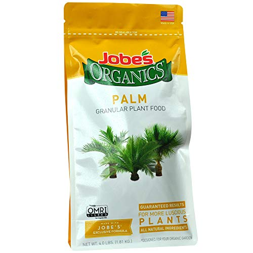 Jobe's Organics 09126 Palm Tree Granular Plant Food, 4 lb