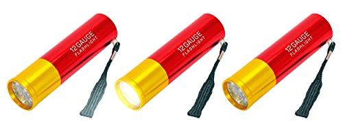 Fairly Odd Novelties FON-10251-3PK - Linterna LED de Calibre 12
