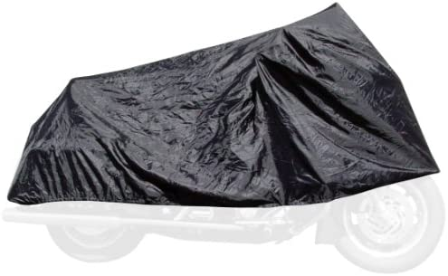 Dowco Willie Max 51111 00 Travel Ready Water Resistant Compact Motorcycle Cover Black Universal product image