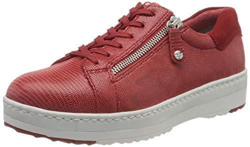 Tamaris 1-1-23711-24, Zapatillas Mujer, Rojo (Chili Struct. 569), 37 EU