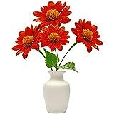 Keshang Balkon Dekoration Blumen,Mexikanische Sonnenblumenkerne Landschaftsblume...