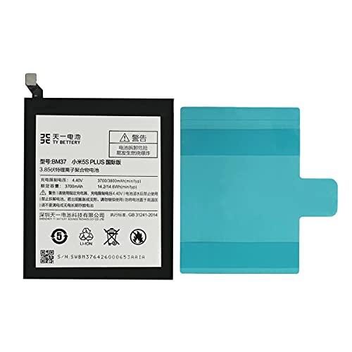 [TY BETTERY] Batteria compatibile con BM37 Xiaomi Mi 5s Plus