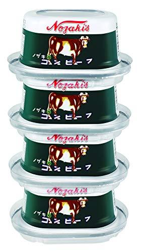 川商フーズ ノザキ コンビーフ 80g ×4個